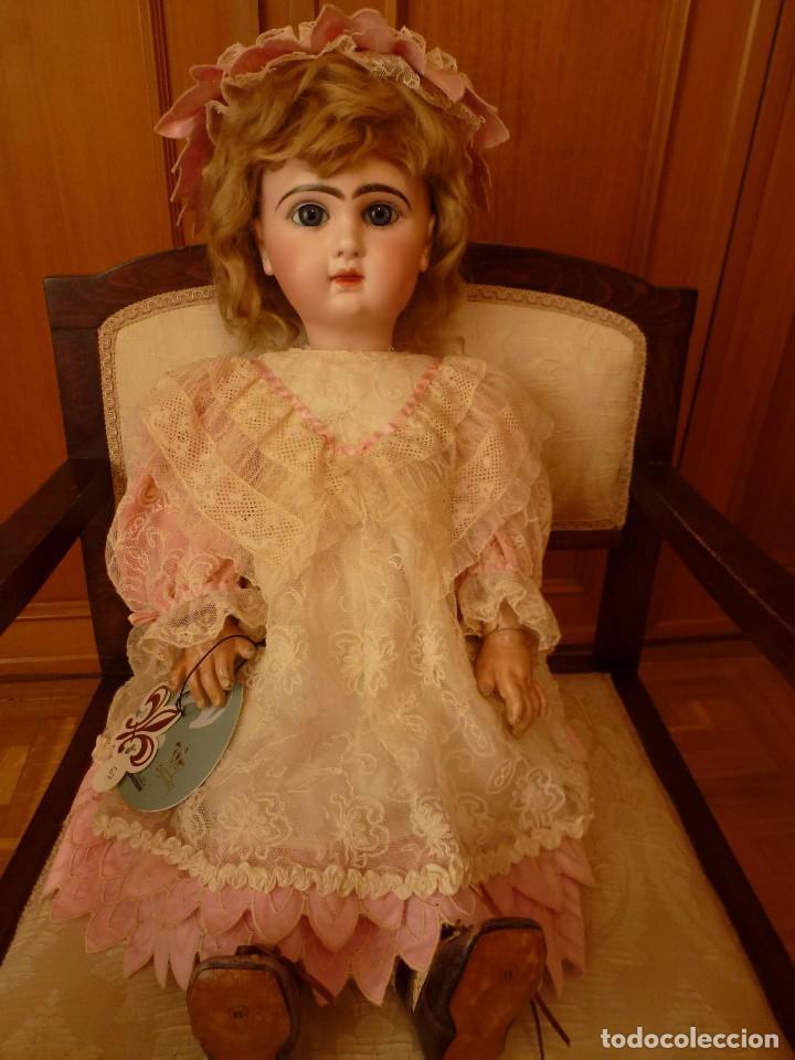Muñecas Porcelana: IMPECABLE BEBE DEPOSE JUMEAU, 64 CMS. PAGO APLAZADO A CONVENIR. - Foto 4 - 89608712
