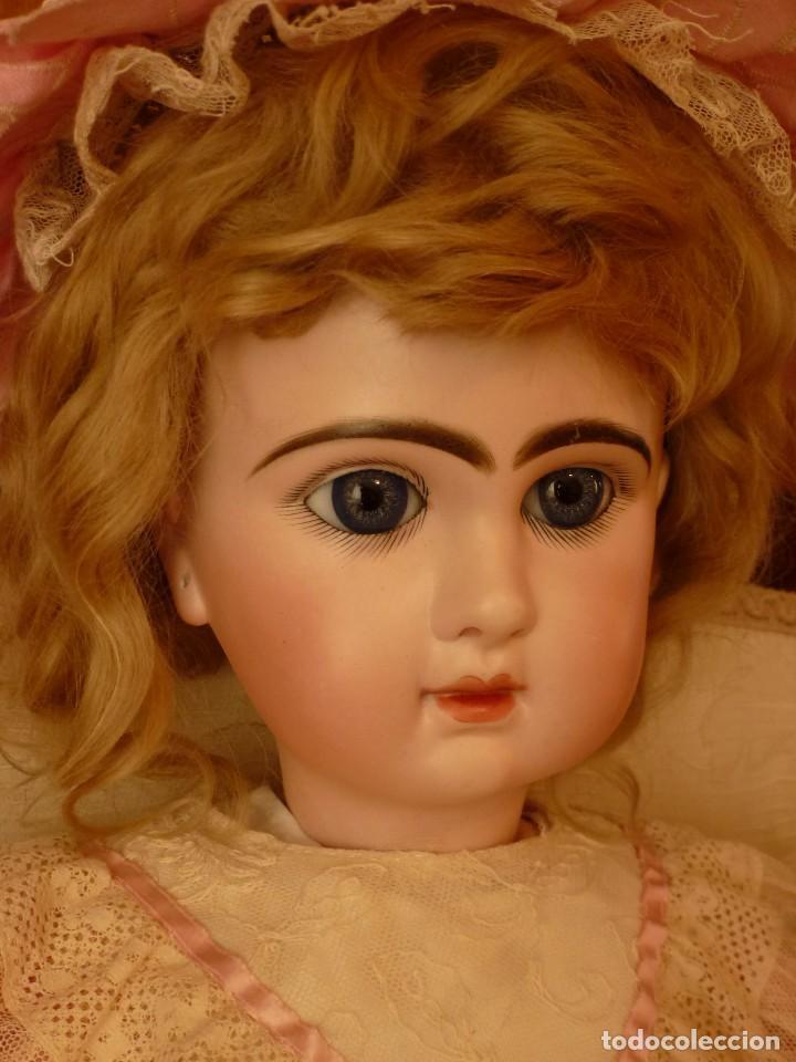 Muñecas Porcelana: IMPECABLE BEBE DEPOSE JUMEAU, 64 CMS. PAGO APLAZADO A CONVENIR. - Foto 5 - 89608712