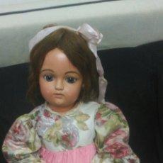 Muñecas Porcelana: PRECIOSA MUÑECA PORCELANA FRANCOIS GAULTIER. GRANDE MIDE 80 CMS. FRANCESA. Lote 91172970