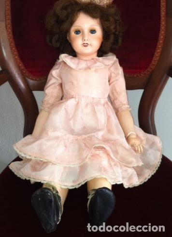 Muñecas Porcelana: Preciosa muñeca UNIS FRANCE 301 71 149. L.R.T. años 20 Mirar fotos - Foto 13 - 68991617
