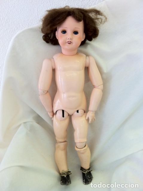 Muñecas Porcelana: Preciosa muñeca UNIS FRANCE 301 71 149. L.R.T. años 20 Mirar fotos - Foto 14 - 68991617