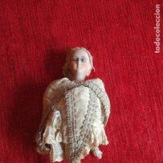 Muñecas Porcelana: 4 MAROTTES MUSICALES SIGLO XIX Y PRINCIPIOS DEL XX DISTINTAS MARCAS 30 CM APROX. PORCELANA EN PERFEC. Lote 102600379