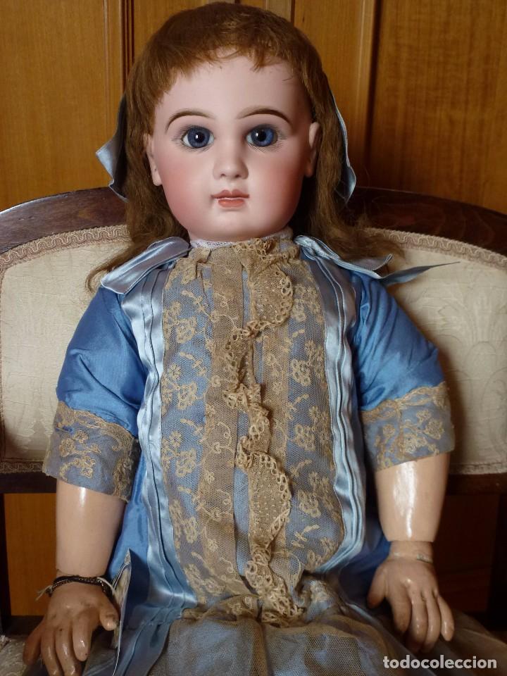 Muñecas Porcelana: BEBE DEPOSE JUMEAU, 66 CMS. PAGO APLAZADO A CONVENIR. - Foto 5 - 104394567