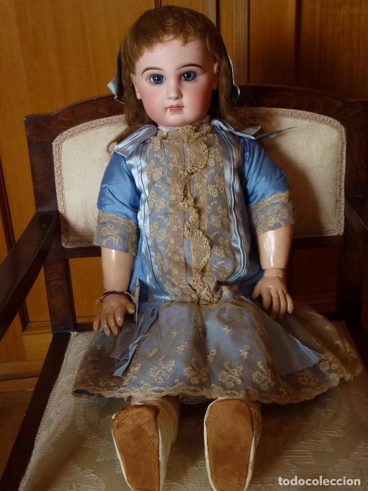 Muñecas Porcelana: BEBE DEPOSE JUMEAU, 66 CMS. PAGO APLAZADO A CONVENIR. - Foto 9 - 104394567