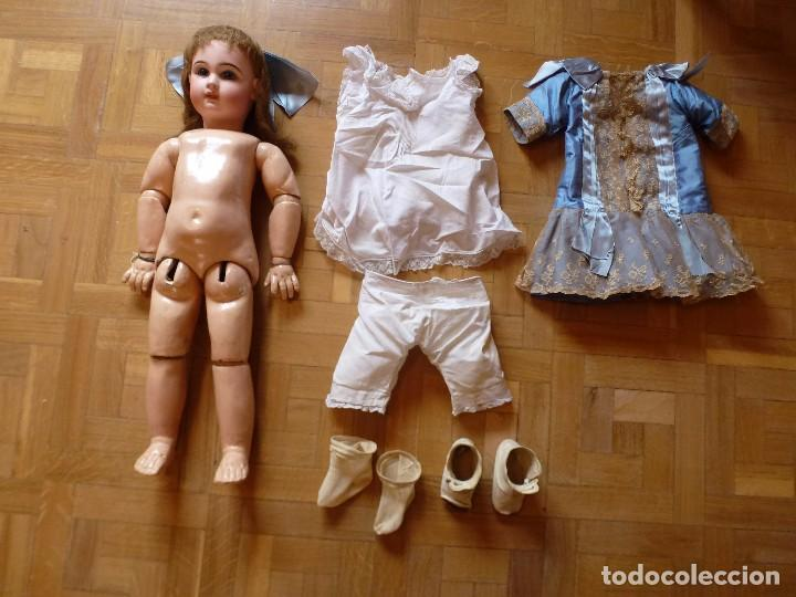 Muñecas Porcelana: BEBE DEPOSE JUMEAU, 66 CMS. PAGO APLAZADO A CONVENIR. - Foto 10 - 104394567
