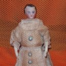 Muñecas Porcelana: MUÑECA PARIAN,FRANCE,PORCELANA,FINALES DEL SIGLO XIX. Lote 107097255