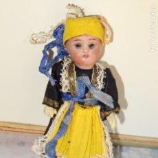 Muñecas Porcelana: ANTIGUA MUÑECA FRANCESA DE PORCELANA FINALES DEL XIX O PRINCIPOS DEL SIGLO XX. Lote 108366103