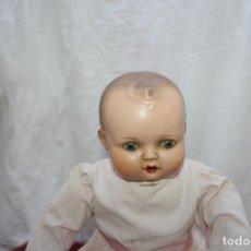 Muñecas Porcelana: MUÑECO BEBE DE PORCELANA Y TRAPO, FSF Nº 4. Lote 108403027