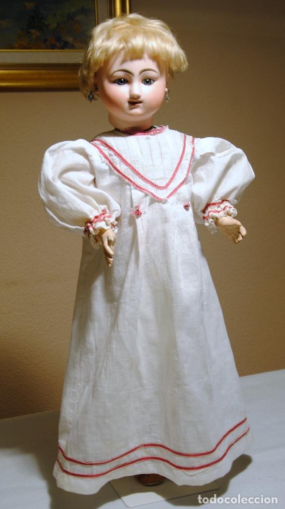 Muñecas Porcelana: ANTIGUA MUÑECA AUTÓMATA FRANCESA JULES NICOLAS STEINER - Foto 2 - 109293179