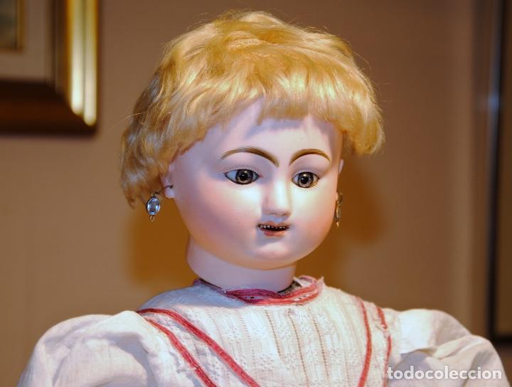 Muñecas Porcelana: ANTIGUA MUÑECA AUTÓMATA FRANCESA JULES NICOLAS STEINER - Foto 3 - 109293179