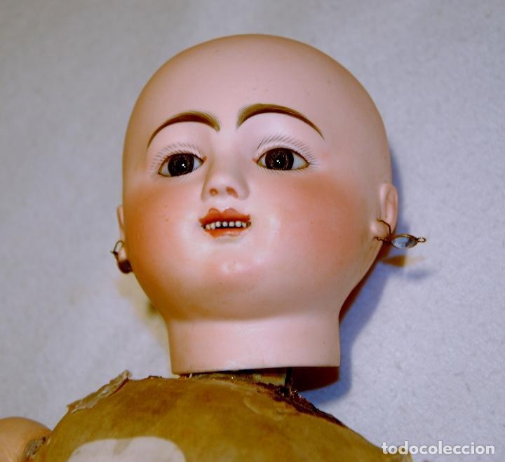 Muñecas Porcelana: ANTIGUA MUÑECA AUTÓMATA FRANCESA JULES NICOLAS STEINER - Foto 4 - 109293179