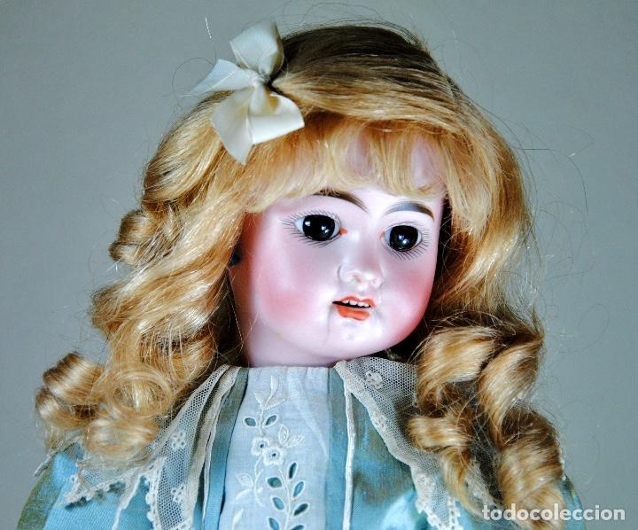 Muñecas Porcelana: MUÑECA DE PORCELANA FRANCESA MARCADA 2X - Foto 3 - 109300131
