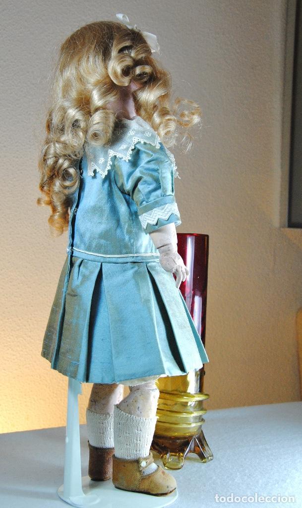 Muñecas Porcelana: MUÑECA DE PORCELANA FRANCESA MARCADA 2X - Foto 4 - 109300131