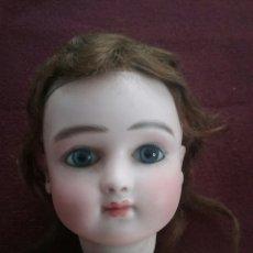 Muñecas Porcelana: CABEZA MUÑECA PORCELANA JULES NICHOLAS STEINER. Lote 110083555