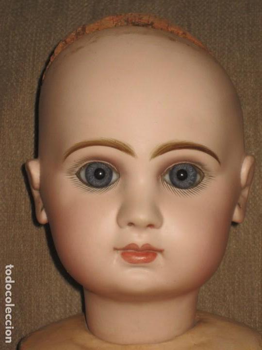 Muñecas Porcelana: muneca JUMEAU GRANDE .tailla 12-- 65 cm. - Foto 2 - 111477075