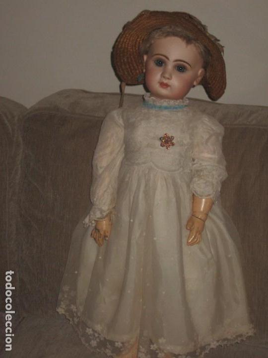 Muñecas Porcelana: muneca JUMEAU GRANDE .tailla 12-- 65 cm. - Foto 6 - 111477075