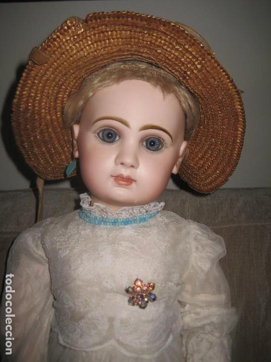 MUNECA JUMEAU GRANDE .TAILLA 12-- 65 CM. (Juguetes - Muñeca Extranjera Antigua - Porcelana Francesa)