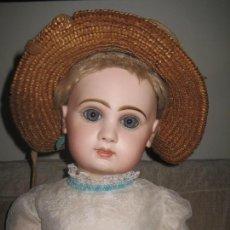 Muñecas Porcelana: MUNECA JUMEAU GRANDE .TAILLA 12-- 65 CM.. Lote 111477075