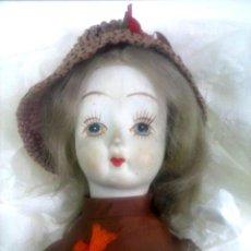 Muñecas Porcelana: MUÑECA DE PORCELANA. Lote 111589131
