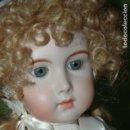 Muñecas Porcelana: JUMEAU TRISTE DE REPRODUCCIÓN. Lote 112447303