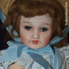 Muñecas Porcelana: PRECIOSA MUÑECA LIMOGES FRANCIA. Lote 113070175