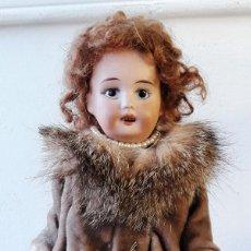 Muñecas Porcelana: MUÑECA ANTÍGUA DE BISCUIT DE CASA DE MUÑECAS. Lote 115311603