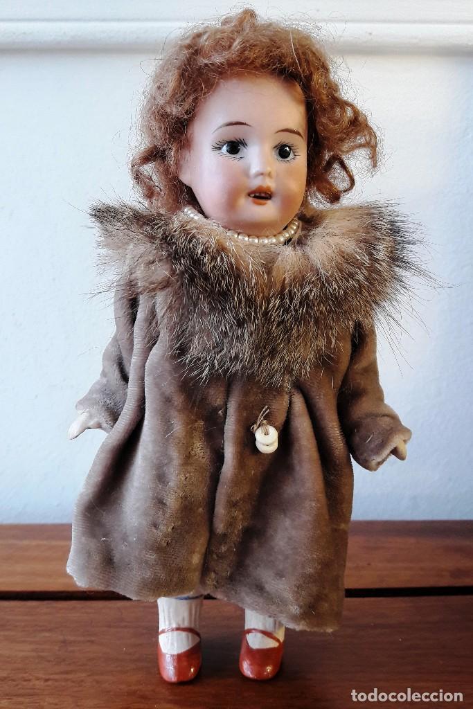 Muñecas Porcelana: Muñeca antígua de biscuit de casa de muñecas - Foto 2 - 115311603