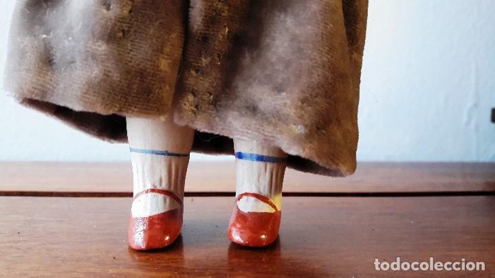 Muñecas Porcelana: Muñeca antígua de biscuit de casa de muñecas - Foto 3 - 115311603