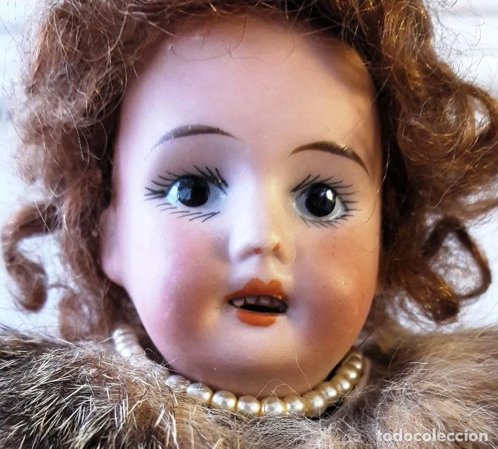 Muñecas Porcelana: Muñeca antígua de biscuit de casa de muñecas - Foto 5 - 115311603