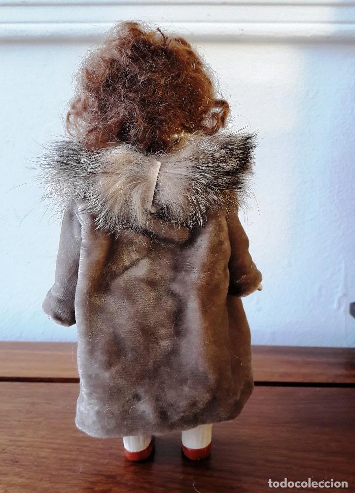 Muñecas Porcelana: Muñeca antígua de biscuit de casa de muñecas - Foto 6 - 115311603