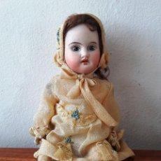Muñecas Porcelana: MUÑECA ANTIGUA TIPO MIGNONETTE CABEZA DE BISCUIT. Lote 115416939