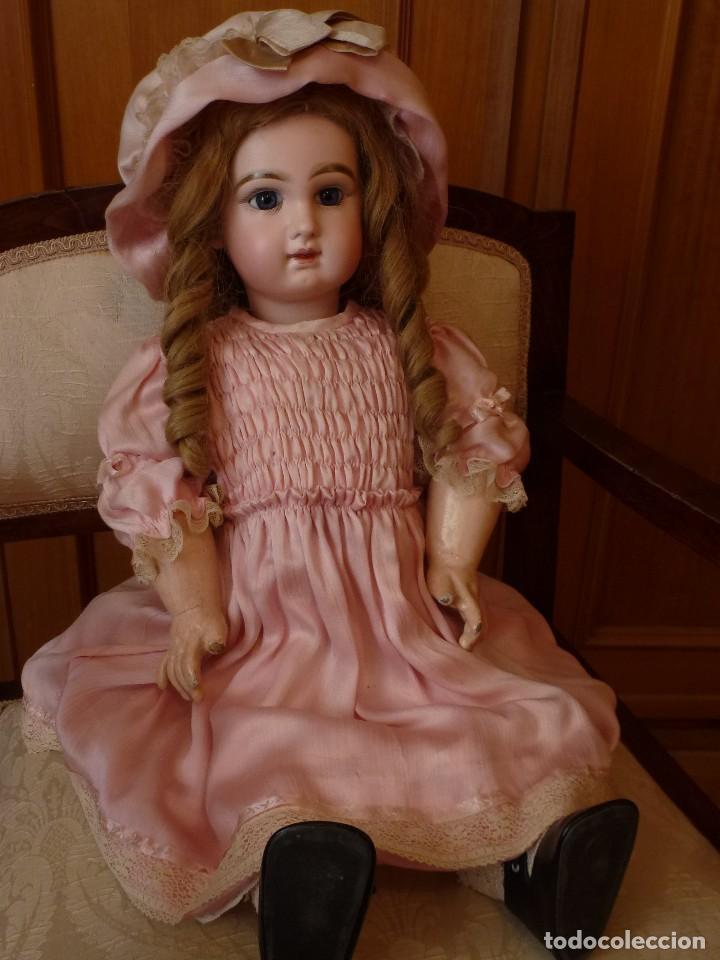 Muñecas Porcelana: BEBE DEPOSE JUMEAU, 60 CMS. PAGO APLAZADO A CONVENIR. - Foto 2 - 115836531