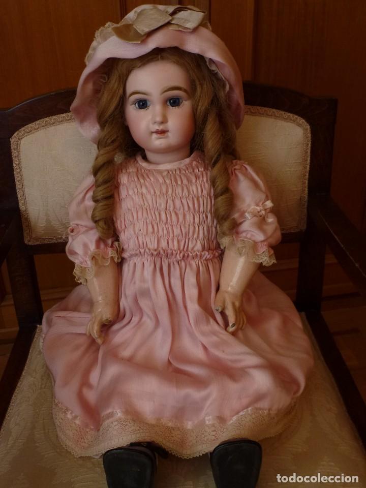 Muñecas Porcelana: BEBE DEPOSE JUMEAU, 60 CMS. PAGO APLAZADO A CONVENIR. - Foto 6 - 115836531