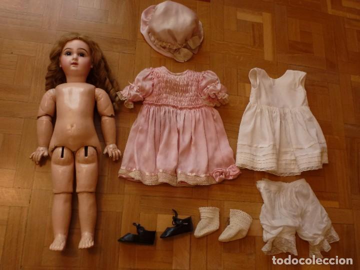 Muñecas Porcelana: BEBE DEPOSE JUMEAU, 60 CMS. PAGO APLAZADO A CONVENIR. - Foto 8 - 115836531