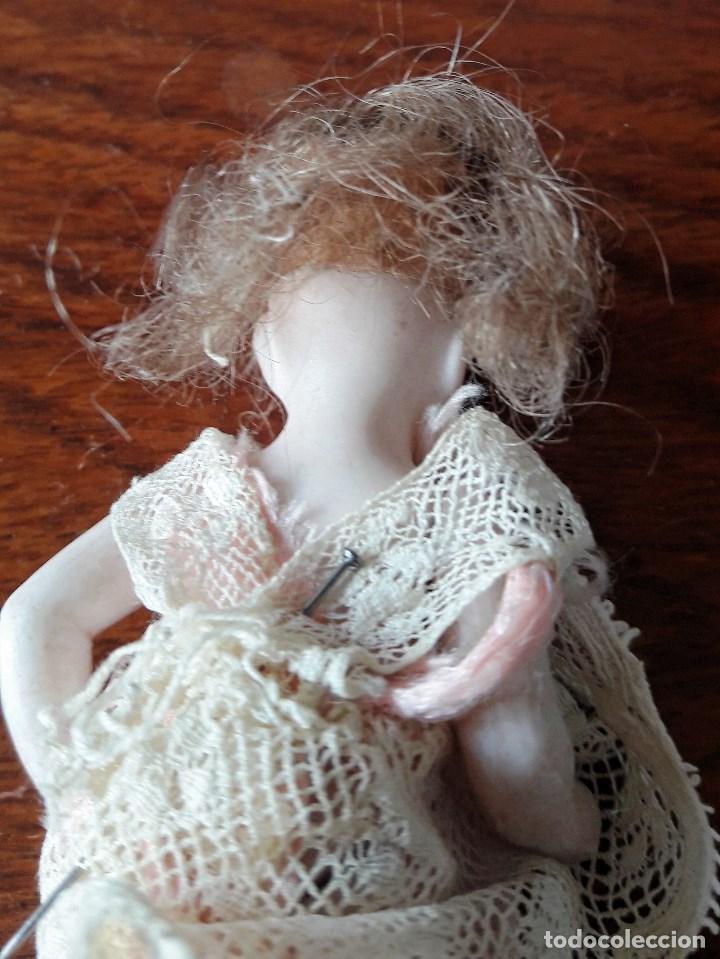 Muñecas Porcelana: Muñeca antígua de biscuit para casa de muñecas - Foto 5 - 118776483