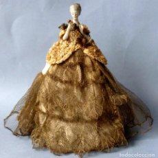 Muñecas Porcelana: ANTIGUA MUÑECA DE PORCELANA - BOMBONERA PRINCIPIOS S.XX. Lote 119275335
