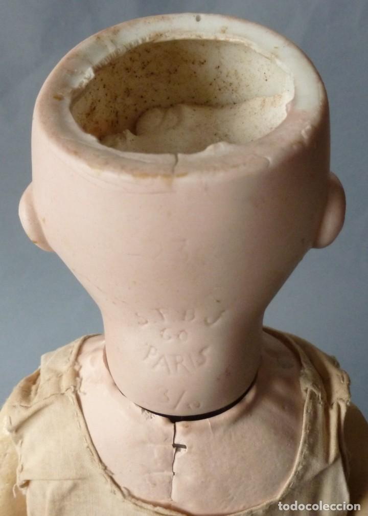 Muñecas Porcelana: ANTIGUA MUÑECA FRANCESA SFBJ 3/10 - Foto 9 - 119279383