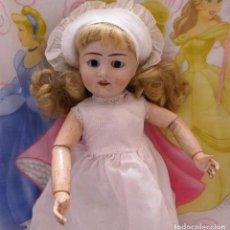 Muñecas Porcelana: MUÑECA CABEZA DE PORCELANA Y CUERPO DE MADERA EL ANCLA, LIANE- DOLL, POUPÉE. PUPPE. Lote 123045699
