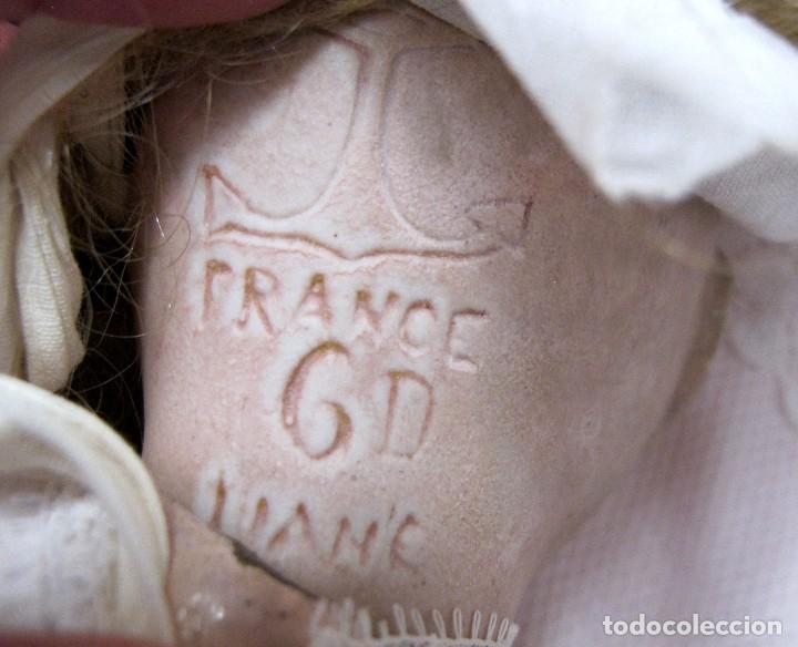 Muñecas Porcelana: MUÑECA CABEZA DE PORCELANA Y CUERPO DE MADERA EL ANCLA, LIANE- DOLL, POUPÉE. PUPPE - Foto 3 - 123045699