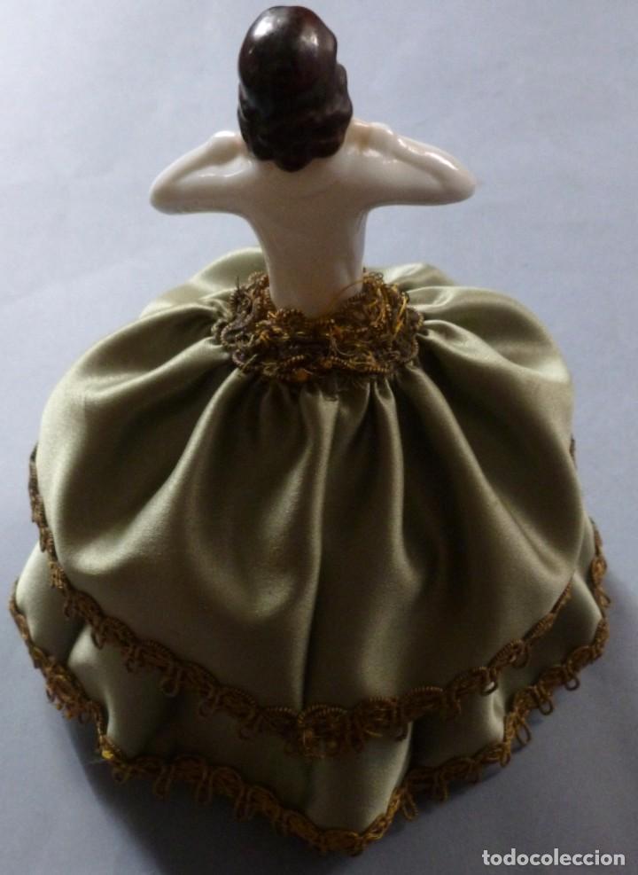 Muñecas Porcelana: ANTIGUA MUÑECA DE PORCELANA - BOMBONERA PRINCIPIOS S.XX - Foto 3 - 128344379