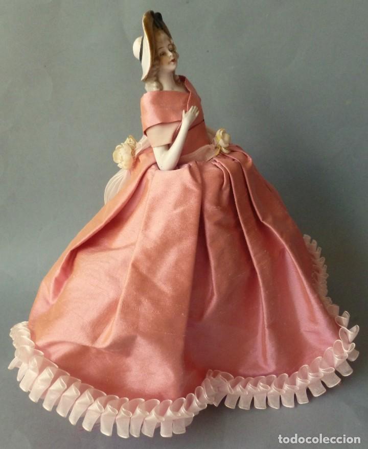 Muñecas Porcelana: ANTIGUA MUÑECA DE PORCELANA - BOMBONERA PRINCIPIOS S.XX - Foto 3 - 128541615