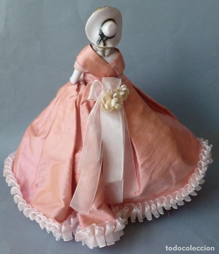 Muñecas Porcelana: ANTIGUA MUÑECA DE PORCELANA - BOMBONERA PRINCIPIOS S.XX - Foto 4 - 128541615