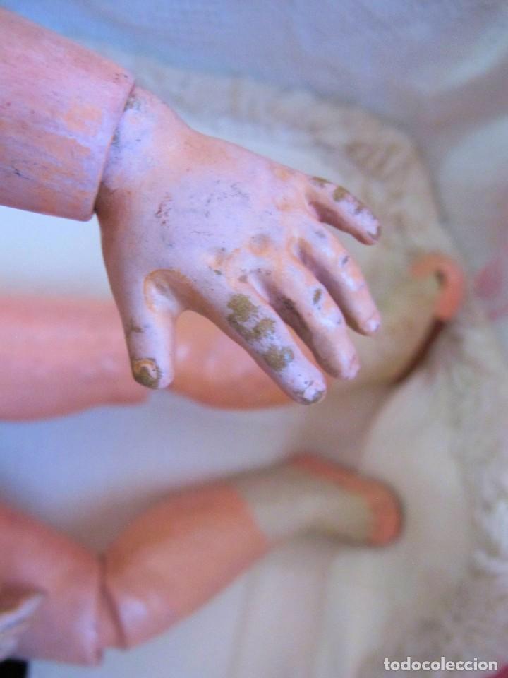 Muñecas Porcelana: ANTIGUA MUÑECA FRANCESA, CABEZA DE PORCELANA, MARCADA - DOLL, POUPÉE - Foto 5 - 129597647