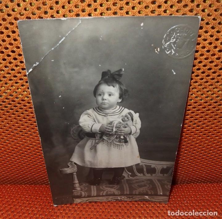 Muñecas Porcelana: MAROTTE DE PORCELANA CON NIÑA,PRINCIPIO DEL SIGLO XX,FRANCE - Foto 2 - 131328638
