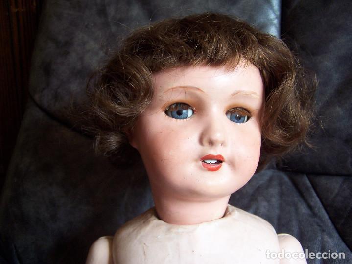 Muñecas Porcelana: Muñeca francesa marcada Unis France modelo 301 – 11. años 20. Molde SFBJ. 66 cm. - Foto 5 - 132561358