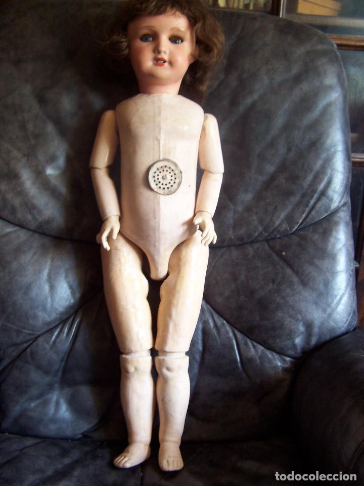 Muñecas Porcelana: Muñeca francesa marcada Unis France modelo 301 – 11. años 20. Molde SFBJ. 66 cm. - Foto 8 - 132561358