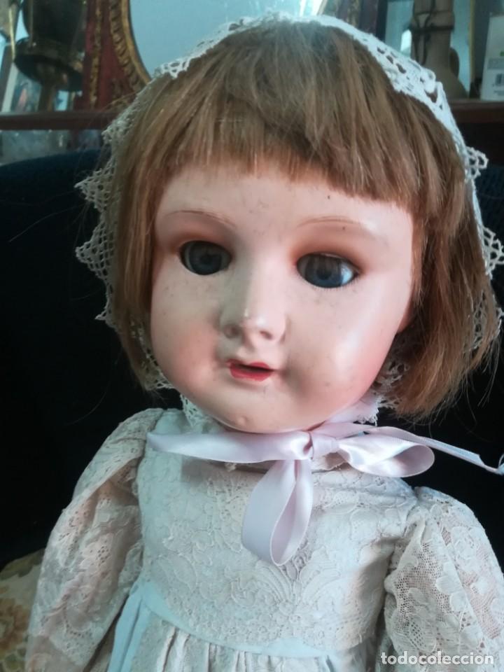 Muñecas Porcelana: Antigua muñeca en porcelana - Foto 2 - 132760622