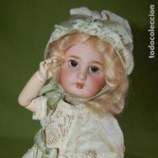 Muñecas Porcelana: DEP JUMEAU AUTOMATA ANDADORA A CUERDA FUNCIONA. Lote 133000310