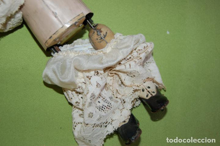 Muñecas Porcelana: dep jumeau automata andadora a cuerda funciona - Foto 9 - 133000310