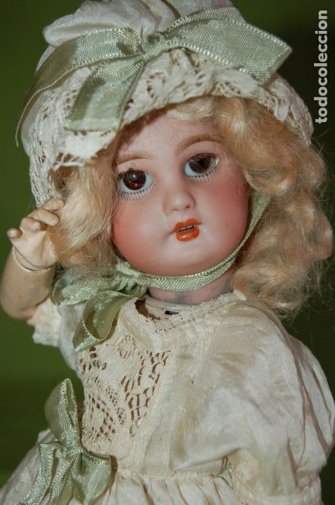 Muñecas Porcelana: dep jumeau automata andadora a cuerda funciona - Foto 12 - 133000310